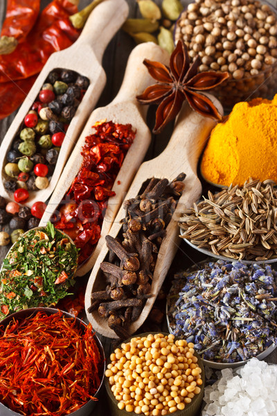Spices and herbs. Stock photo © lidante