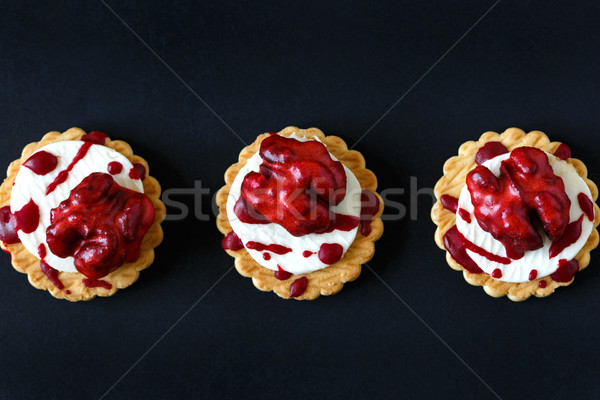 Bloody brain biscuits. Stock photo © lidante