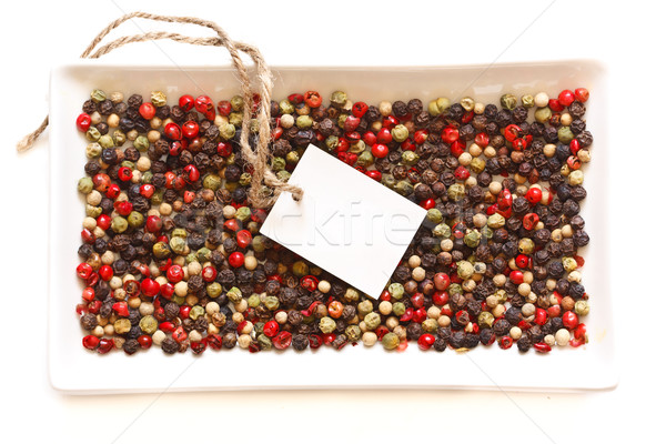 Peppercorns. Stock photo © lidante