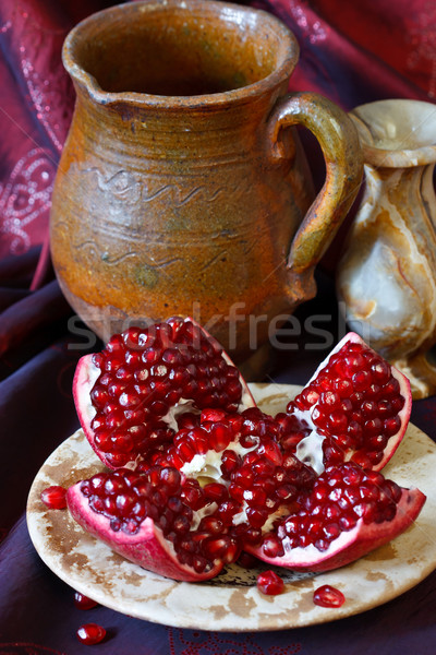 Pomegranate. Stock photo © lidante