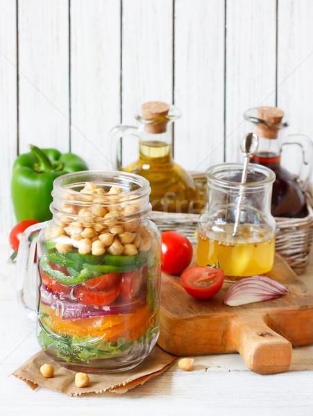 Salad. Stock photo © lidante