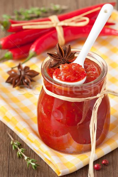 Chili confiture. Stock photo © lidante