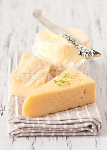 Cheese and butter. Stock photo © lidante