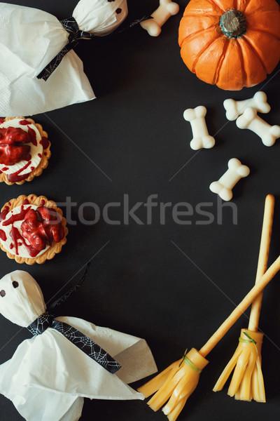 Happy Halloween frame. Stock photo © lidante