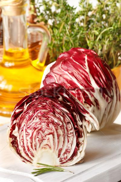 Fresh gargen radicchio. Stock photo © lidante