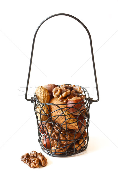 Mix of nuts. Stock photo © lidante