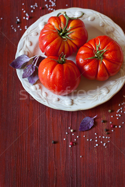 Tomatoes. Stock photo © lidante