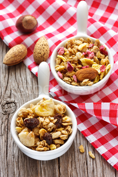 Homemade granola.  Stock photo © lidante