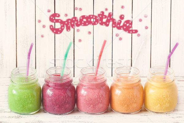 Smoothies. Stock photo © lidante