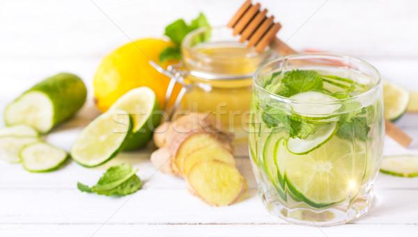 Organic detox drink. Stock photo © lidante