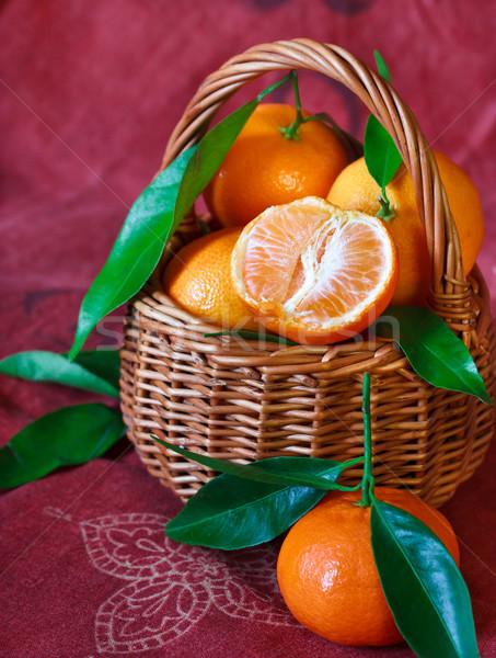 Mandarines. Stock photo © lidante