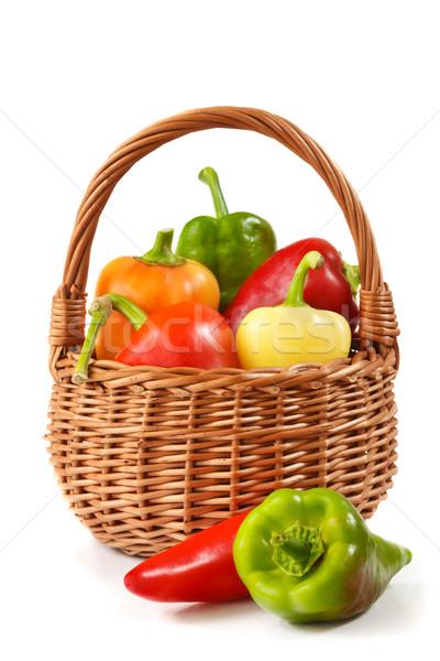 Colorful paprika. Stock photo © lidante