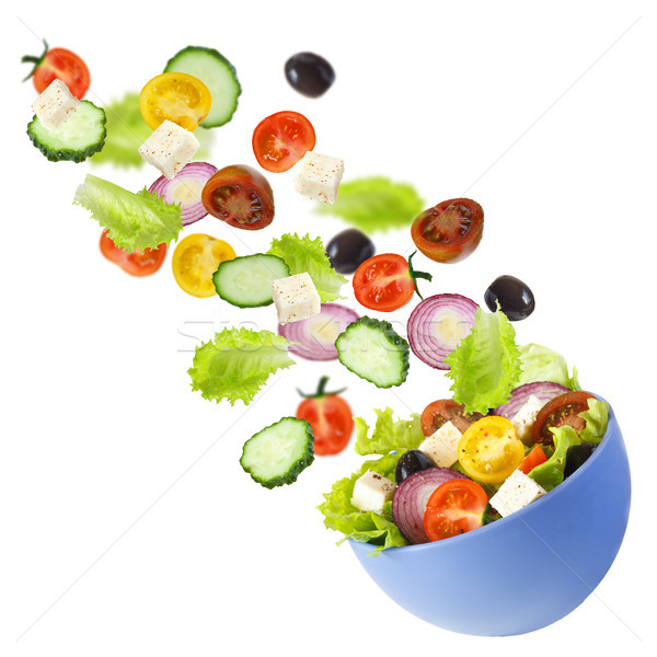 Greek salad. Stock photo © lidante