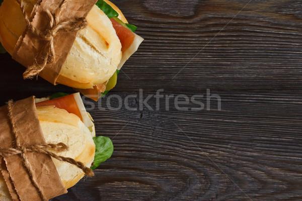 Sandwiches. Stock photo © lidante