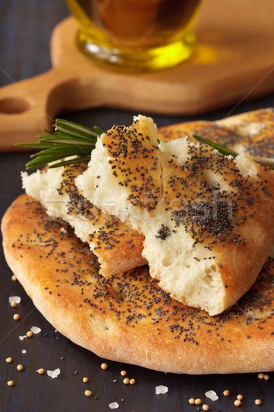 Eigengemaakt diner tarwe ontbijt asian vers Stockfoto © lidante