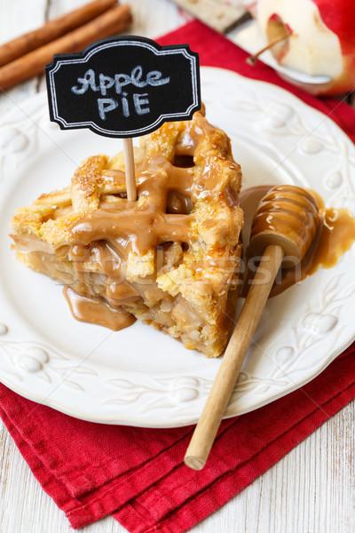American apple pie Stock photo © lidante