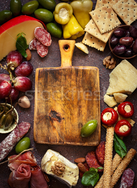 Best antipasto plate. Stock photo © lidante