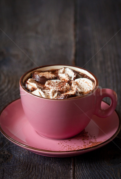Hot chocolate. Stock photo © lidante