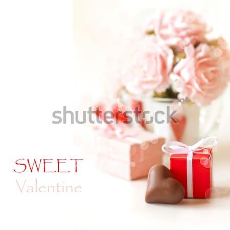 Sweet Valentine. Stock photo © lidante