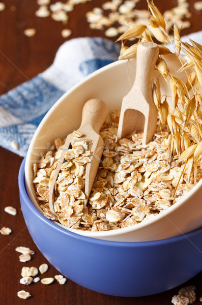 Oat flakes. Stock photo © lidante