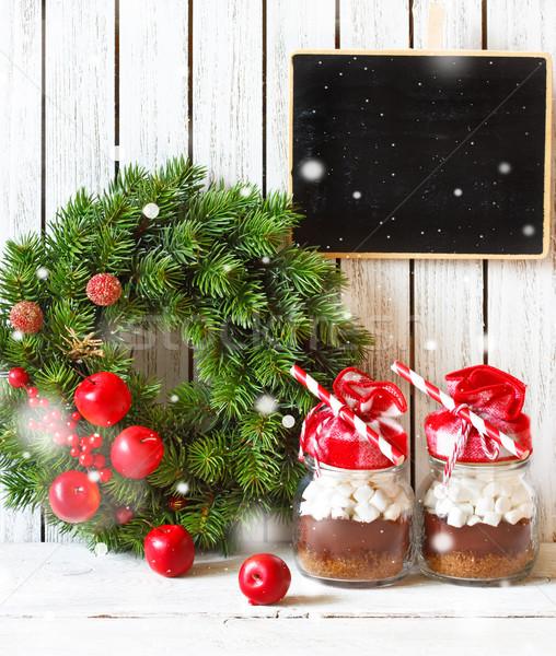 Christmas chocolate mix. Stock photo © lidante