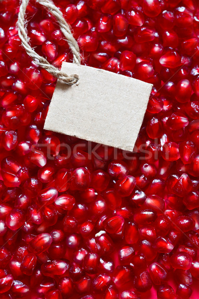 Pomegranate background. Stock photo © lidante