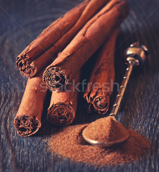 Cinnamon sticks. Stock photo © lidante