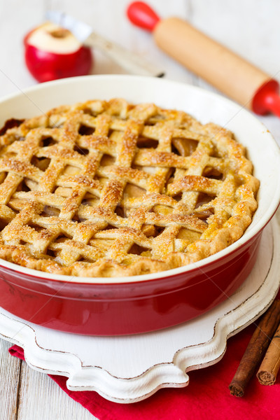 American apple pie Stock photo © lidante
