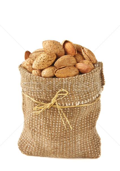 Almonds. Stock photo © lidante