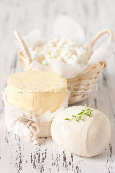 Dairy products. Stock photo © lidante
