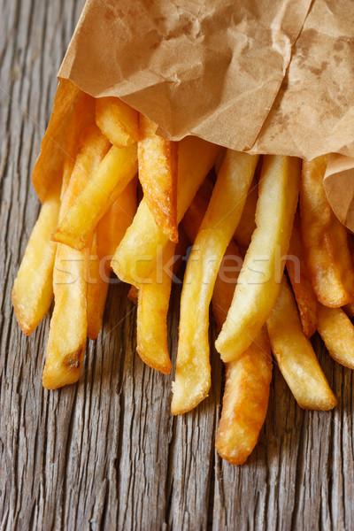 Fried potato. Stock photo © lidante