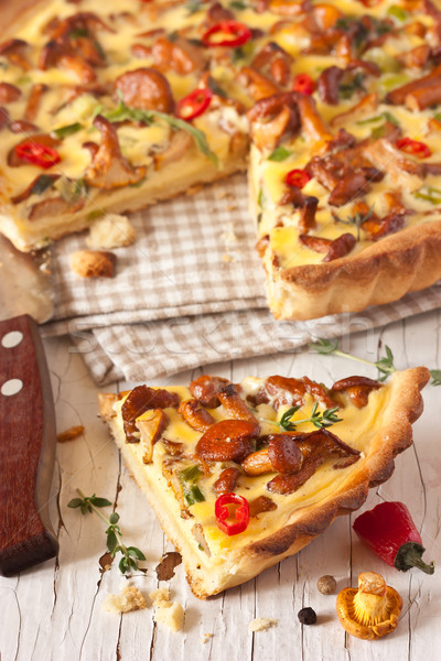 Homemade pie. Stock photo © lidante
