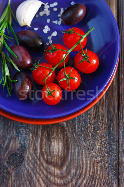 Stock photo: Food.