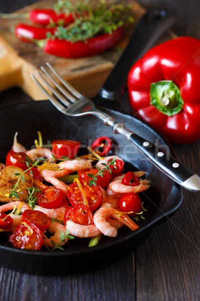 レモン 唐辛子 チェリートマト 食品 ディナー ストックフォト © lidante