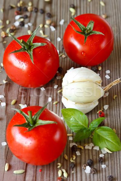 Summer tomatoes. Stock photo © lidante