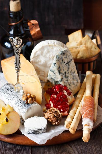 Cheese platter. Stock photo © lidante