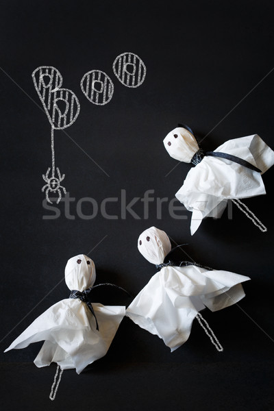 Halloween ghost candy. Stock photo © lidante