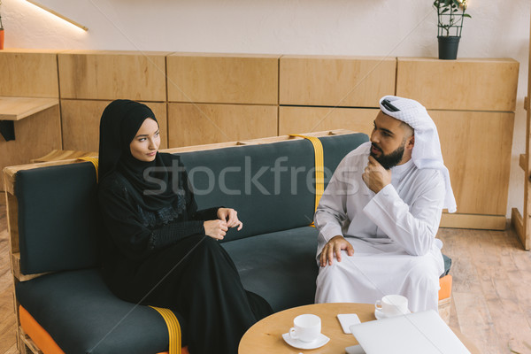 muslim couple spending time together Stock photo © LightFieldStudios