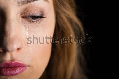 Young woman crying  Stock photo © LightFieldStudios