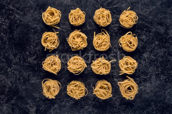 Brut pâtes fond pierre sombre concrètes Photo stock © LightFieldStudios