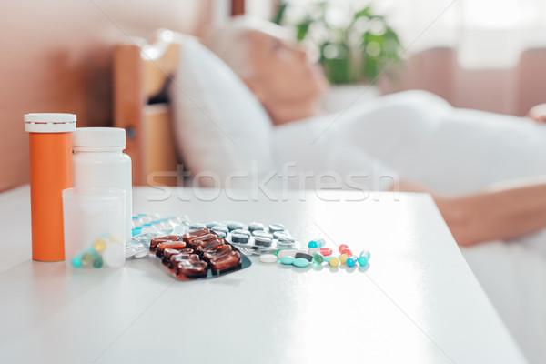 pills  Stock photo © LightFieldStudios