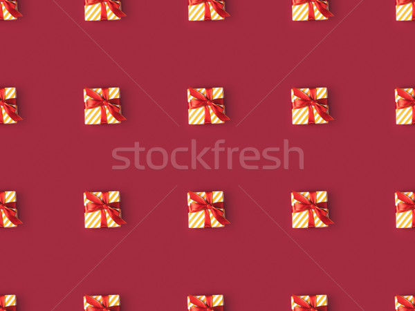 wrapped gift boxes Stock photo © LightFieldStudios
