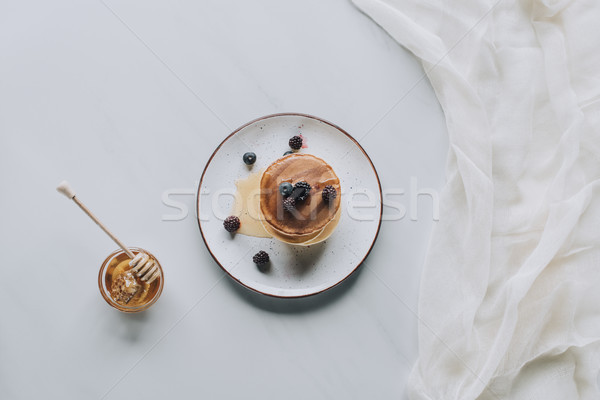 Foto stock: Superior · vista · delicioso · casero · miel