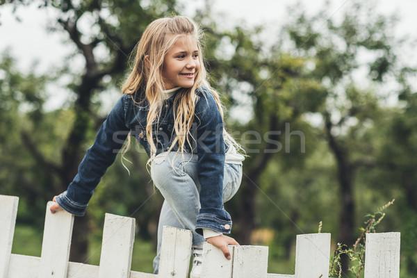 child at countryside  Stock photo © LightFieldStudios
