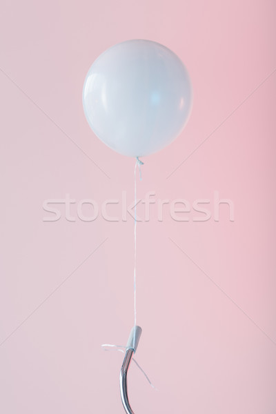 bicycle with white balloon Stock photo © LightFieldStudios