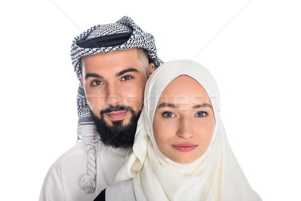muslim couple Stock photo © LightFieldStudios