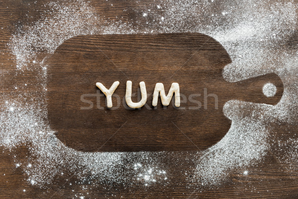 Superior vista comestible yum cookies Foto stock © LightFieldStudios