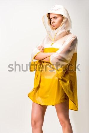 Ragazza giallo pera attrattivo Foto d'archivio © LightFieldStudios
