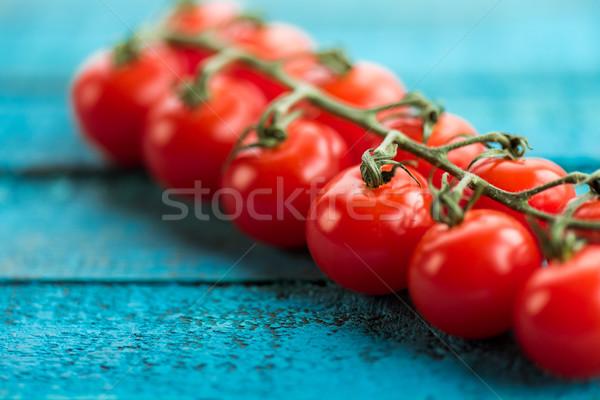 fresh cherry-tomatoes on table Stock photo © LightFieldStudios