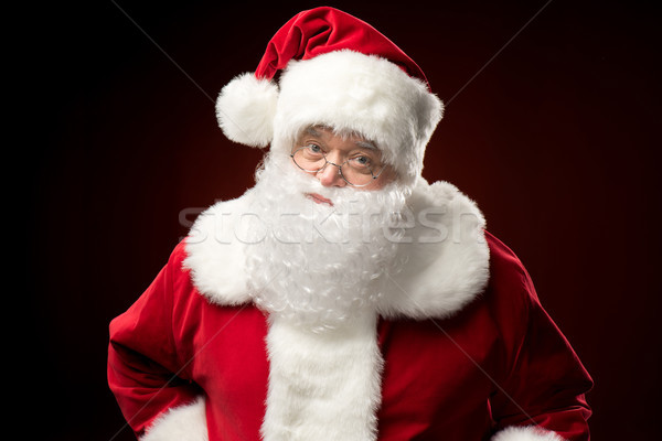 Santa Claus looking at camera   Stock photo © LightFieldStudios
